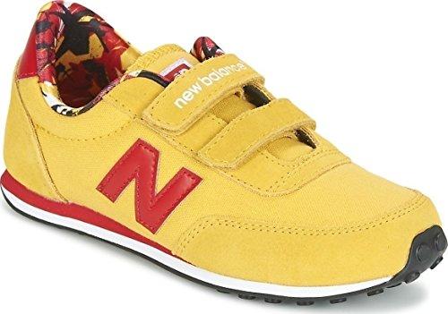 New Balance, Sneaker bambini giallo giallo
