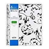 Blue Sky 2019 Monthly Planner, Flexible Cover, Twin-Wire Binding, 8\