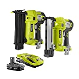 ONE+ 18-Volt Lithium-Ion Cordless Drill/Driver and Brad Nailer Combo Kit (2-Tool)