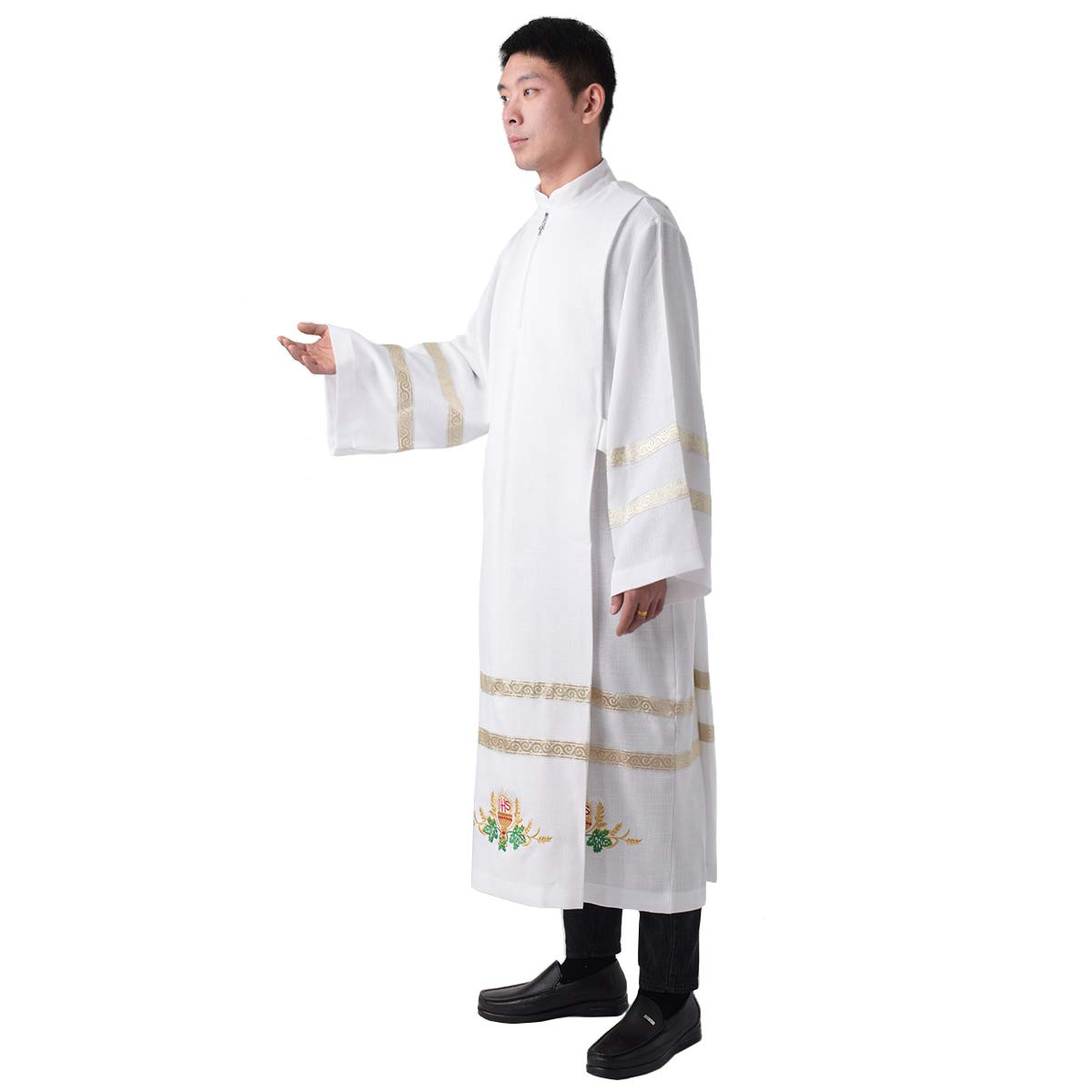 BLESSUME Church ALB Embroidered Vestments