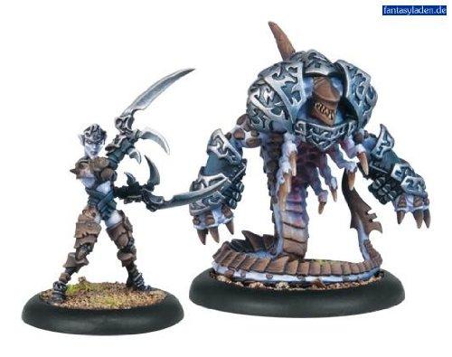Privateer Press - Hordes - Legion: Bethayne and Belphagor Model Kit