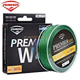 Proberos Ultra High Molecular Weight 4 Braided PE Fiber Fishing Line Powerful 546YD Spool 0 Stretch Strong Abrasion Resistance (60lb, Green) Review