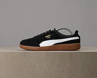 c87dbd48499 Puma Madrid Trainers Black 11 UK  Amazon.co.uk  Shoes   Bags