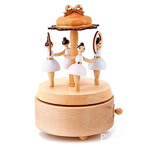 お得セット bestsunnyバレエ女の子'gift Musicalボックスyb030 Wooden Wooden Musicalボックスyb030 B01HBJ94HW, 雄和町:b960cd3a --- ballyshannonshow.com