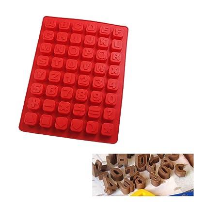 número útil símbolo Letras Forma Silicona jabón Molde 3D Torta de Silicona Molde Pastel Herramientas jabón
