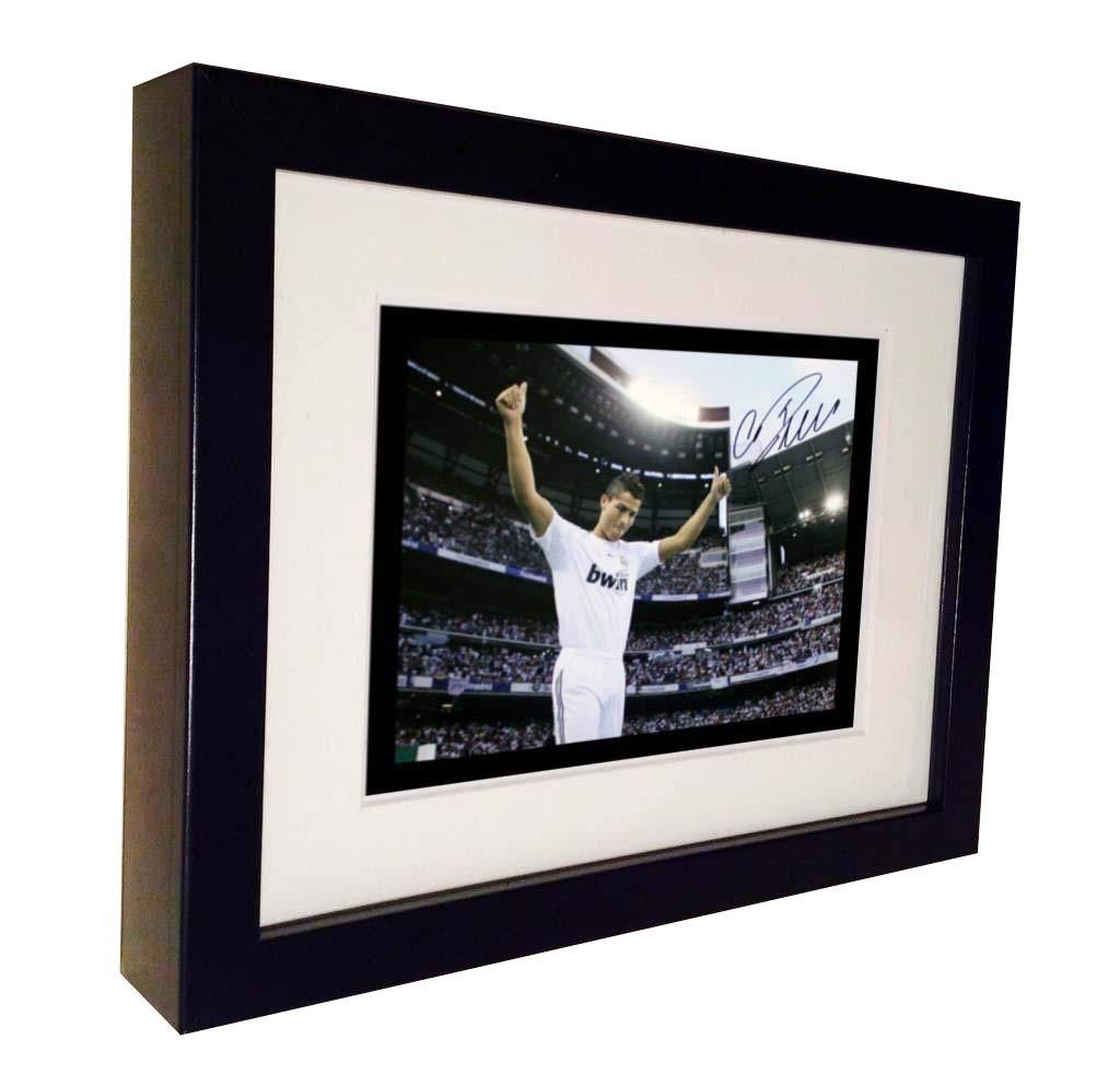 Firmada por Christiano Ronaldo Real Madrid para fotografías de ...