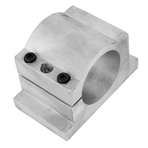 (52/65mm Spindle Motor Bracket Cast Aluminium Mount Spindle Clamp Bracket for 3D printing CNC Engraving Millng Machine (65mm))