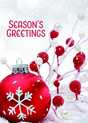 16 Pack Holiday Favorites Season's Greeting Holiday Greeting Cards - 5 x 7 Inches