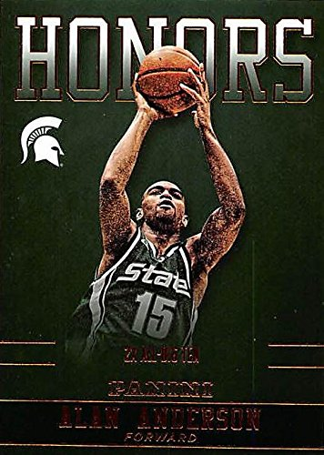 Alan-Anderson-basketball-card-Michigan-State-Spartans-2x-All-Big-Ten-2016-Panini-Team-Collection-Honors-AA-MSU