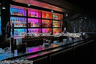 amazoncom octane lighting led rgb color changing bottle rack bar back hookah lounge table night club light automotive back bar lighting