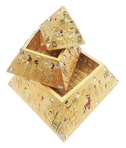 egyptian-golden-mirror-gods-deities-pyramid-jewelry-stacker-box-figurine-statue