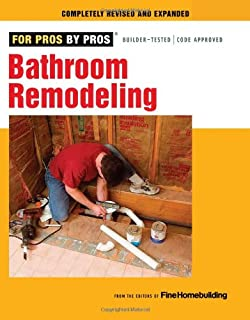 bathroom remodeling for pros by pros - Bathroom Remodeling Books