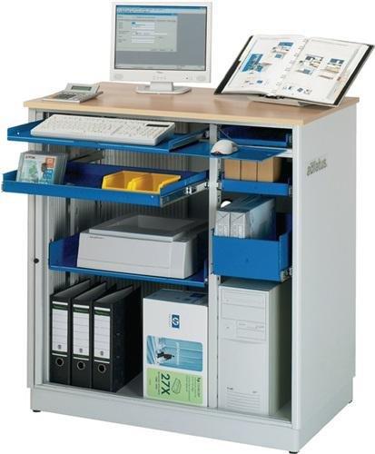 RAU Computer-Arbeitsplatz - HxBxT 1110 x 1030 x 660 mm, ohne ...