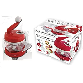 Delightful Kitchen King Pro Complete Food Preparation Station