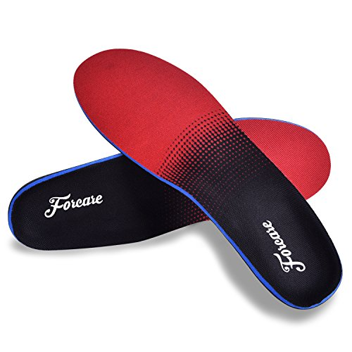 Plantar Fasciitis Arch Support Shoe Inserts Orthotic Insoles for Men and Women Flat Feet Over-Pronation Pain Relief (US Mens 5-5.5 | Womens 7-7.5)
