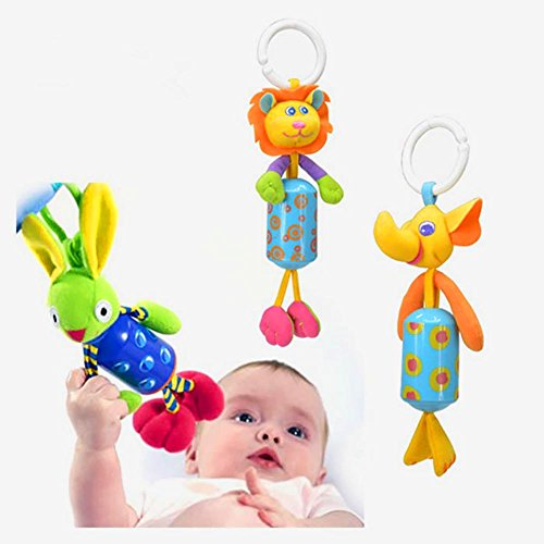 Kiddos Baby Rattle Toy Kids Stroller Hanging Bell Carseat\Pram Toy Cute Wind Chime,Christmas Gift by Kiddosland