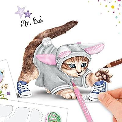 Top Model 046671 A Create Your Kitty Livre De Coloriage