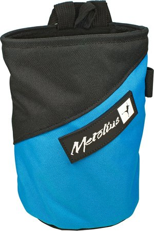 Competition Chalk Bag (Metolius Competition Stripe Chalkbag Blue, One Size)