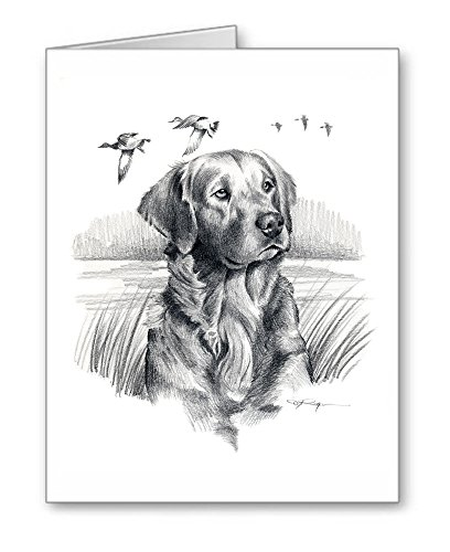 Golden Retriever - Set of 10 Dog Note Cards With Envelopes ()