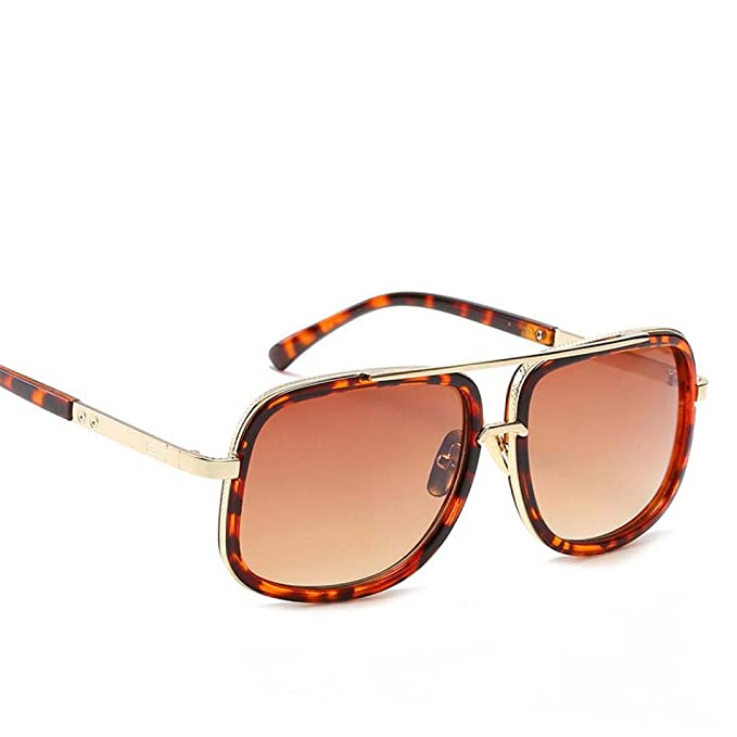 21555eb184 Winwintom Hombres Mujeres Plaza Deportes al aire libre Gafas Gafas gafas de  sol de espejo Vintage