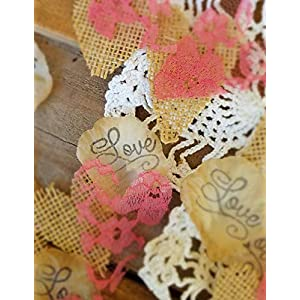 Burlap And Lace Wedding Decorations, Rustic Bridal Shower Decorations 52