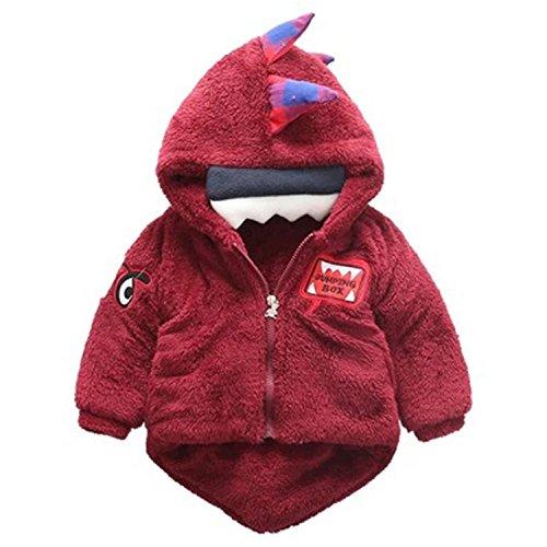 Jacket Baby Dinosaur Hooded Coat Infant Boys Girls Autumn Winter Thick Warm Kids Parkas BFOF We - Kids Zalora