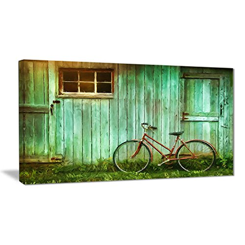 Green canvas wall art - green modern wall art- Green Wall decor