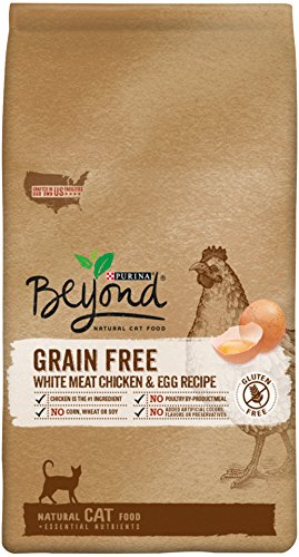 One Cat Natural (Purina Beyond Natural Dry Cat Food, Grain Free, White Meat Chicken & Egg Recipe, 5-Pound Bag, Pack of 1)