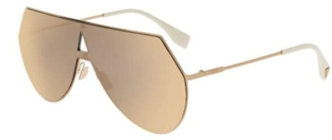 e18d163647b8 Image Unavailable. Image not available for. Color  New Fendi EYELINE FF 0193 S  rose gold rose gold mirror 000 0