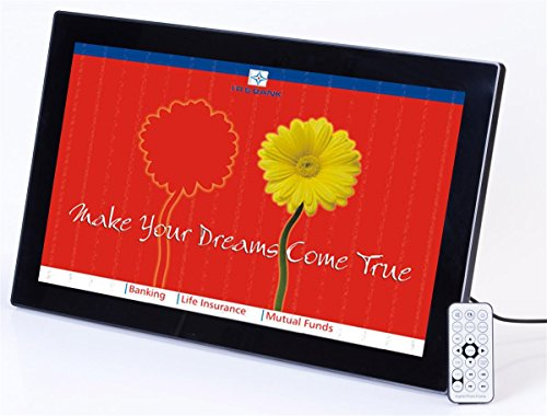 Displays2go DPFBK215A1 21.5-Inch Widescreen Digital Photo Fr