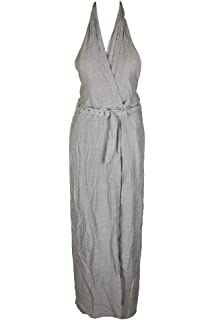 0fb685882c6 Amazon.com  Double Weave Rayon Poly Belted Wide-Leg Jumpsuit Classic ...