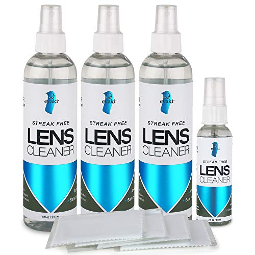 Most Popular Eyeglass Cleaning Fluids