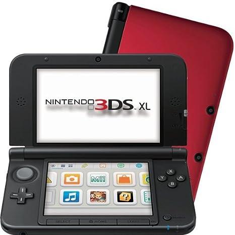Console Nintendo 3DS XL - rouge & noir [Importación francesa ...