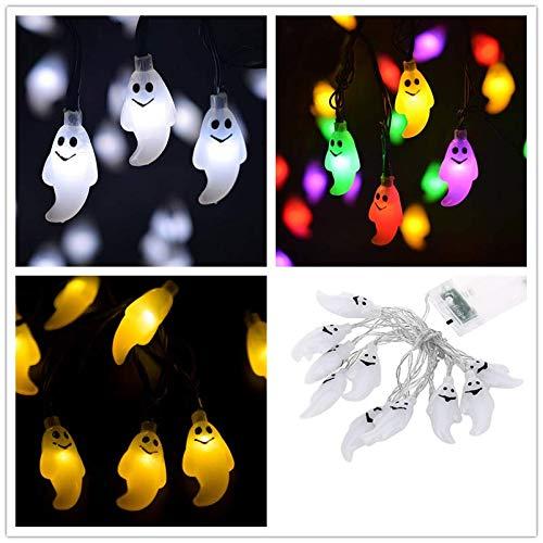 Halloween Yard Decorations Lights - Ymibull Halloween Ghosts String Lights 10