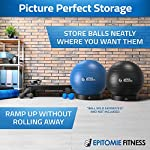 NATARIFITNESS..COM  51-%2BF7TnijL._SS150_ Exercise Ball Base for Stability - Stand for Balance Balls Fits Balls from 55cm to 75cm - Convert Stability Ball to…