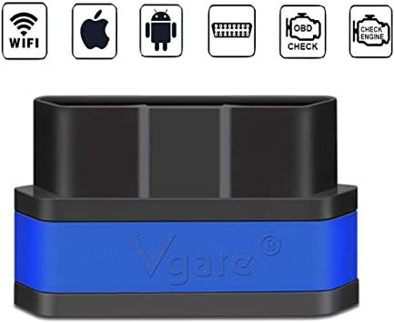 Vgate Icar 2 Wifi Obd2 Scanner Scan Tool Interface Adapter Motorkontrollleuchte Can Help 12 V Car Sleep 03 Diesel Car Auto Diagnostic Scanner Tool For Android Ios Iphone Ipad Black Blue Auto
