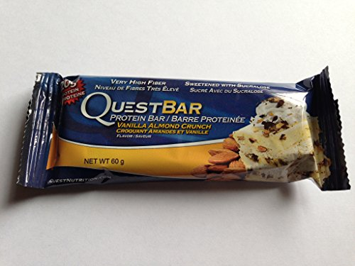 Quest Nutrition Quest Protein Bar Vanilla Almond Crunch - Gluten Free