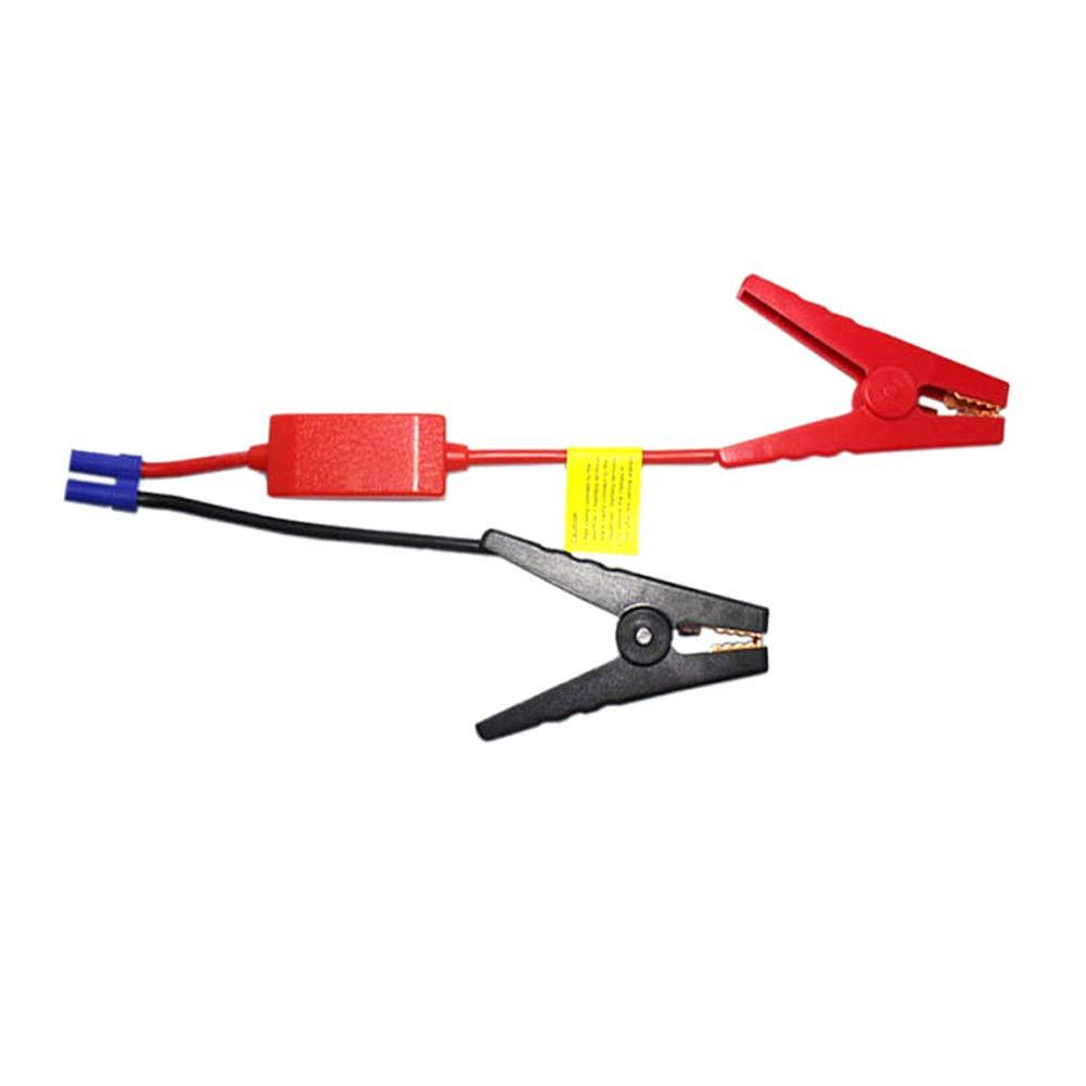 SAXTEL Bater/ía port/átil del arrancador del Salto del veh/ículo del Coche los Accesorios del Clip del cocodrilo la Emergencia del Cable la Ventaja 12V