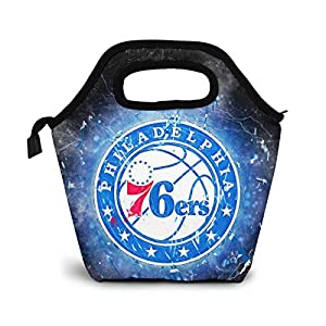 Well-Being-Matters 51-%2BFvI2w5L._SS300_ Philadelphia Basketball 76ers Lunch Bag Boxes Tote Insulated Reusable For Kids Bag Lunchbox Durable Waterproof Zipper…