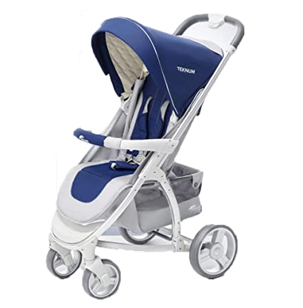 Los cochecitos de bebé pueden sentarse y acostarse, doblar los ...