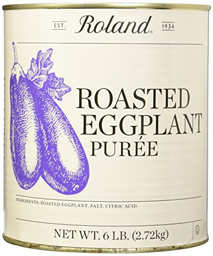 Roland Foods Roasted Eggplant No Artificial Colors or Flavors, 6 Pound