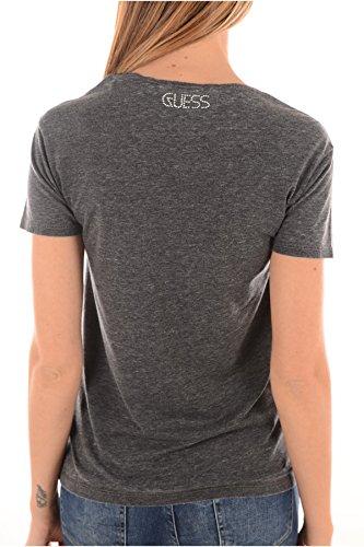 Guess Damen T-Shirt Grau Grau