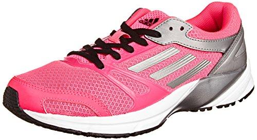 adidas Lite Arrow 2.0 - zapatillas de running de material sintético unisex rosa - Pink (Neon Pink / Neo Iron Met. F11 / Black 1)