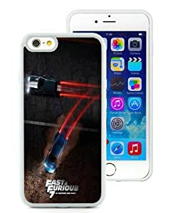 Case For iPhone 6,Fast And Furious 7 White iPhone 6 (4.7) TPU Case Cover