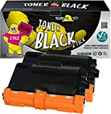 Yellow Yeti TN3480 (8,000 Pages) 2 Compatible Toner Cartridges for Brother HL-L5000D HL-L5100DN HL-L5200DW HL-L6300DW HL-L6400DW DCP-L5500DN MFC-L5700DN MFC-L5750DW MFC-L6800DW [3 Years Warranty]