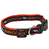 Pets First NFL Denver Broncos Pet Collar, Small
