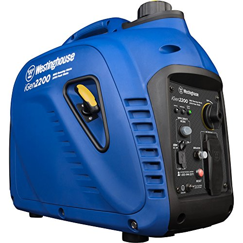Westinghouse iGen2200 Super Quiet Portable Inverter Generator - 1800 Rated Watts and 2200 Peak Watts - Gas Powered - CARB Compliant (Efficient Energy Doors Patio Reviews)