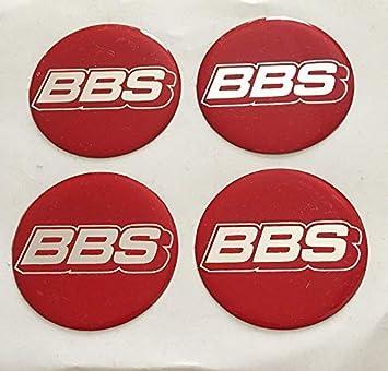 BBS 4 Unidades 65 mm Pegatinas Emblema para Llantas Buje Tapa Tapacubos: Amazon.es: Coche y moto