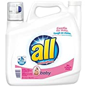 all Liquid Laundry Detergent, Baby, 141 Ounces, 94 Loads by all