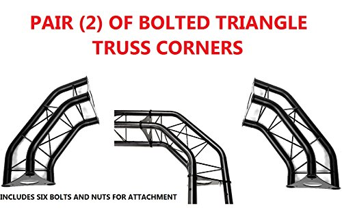 etal Corners For Bolted Triangle Trusses DJ Lighting Arch ()